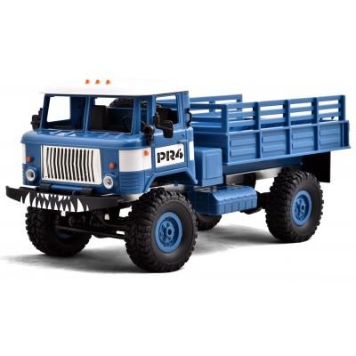 Funtek PR4 Camion Militare 4x4 1/ 16 con Luci RTR Blu