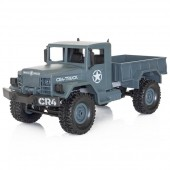 Funtek CR4 Military Truck 4x4 1/ 16 with Lights RTR Grey 2