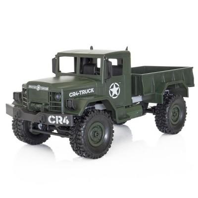 Funtek CR4 Military Truck 4x4 1/ 16 with Lights RTR Green