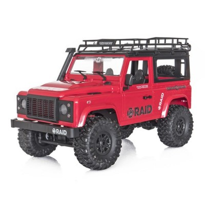 Funtek Raid Mini Scaler 1 /12 RTR Red