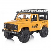 Funtek Raid Mini Scaler 1 /124x4  RTR Yellow