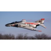 E flite F-4 Phantom II 80mm EDF AS3X Safe BNF