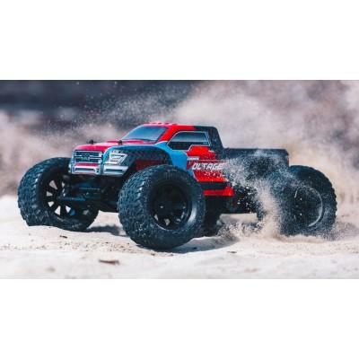 Arrma Granite Voltage 2WD Mega 1 /10 Monster Truck RTR Red