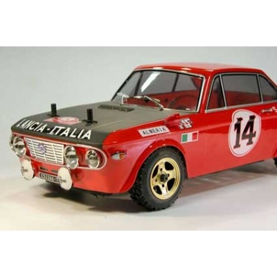 The Rally Legends Lancia Fulvia HF 1600 ARTR 1: 10 Rc Rally Car Painted