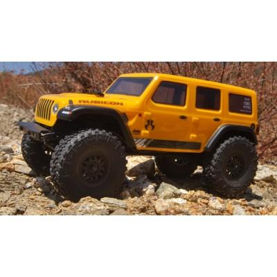 Axial Scx24 Jeep Wrangler Crawler JLU 4x4 RTR 1/ 24 Yellow