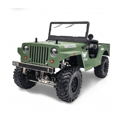 Gmade 1/ 10 Scale GS01 Sawback 4x4 R/ C Scaler RTR Military
