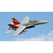 E flite F-18 Hornet Jet 80mm 1m EDF AS3X Safe BNF