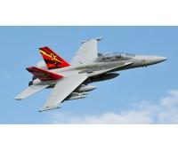 E flite F-18 Hornet Jet 80mm 1m EDF AS3X Safe BNF