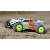 Losi Mini T 2 .0 1 /18 Stadium Truck 2WD Brushed RTR Grey Red