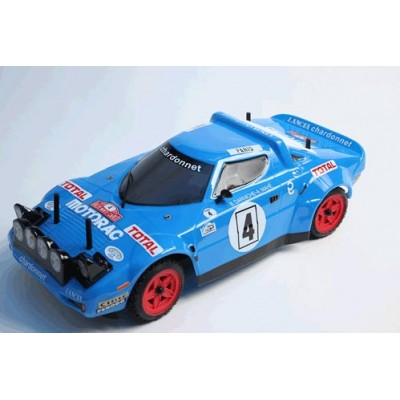 The Rally Legends Lancia Stratos Chardonnet  ARTR 4wd Painted