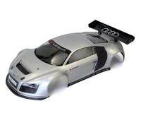 Kyosho Body 1 :10 Clear Body Gt2 Audi R8 Grey