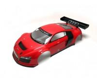 Kyosho Body 1 :8 Clear Body Gt2 Audi R8 Red