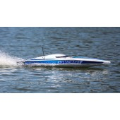 Proboat Sonicwake 36 Self-Righting Brushless Boat RTR White