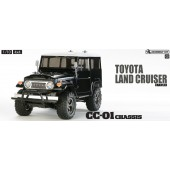 Tamiya Toyota Land Cruiser 40 Black 4WD Telaio CC-01