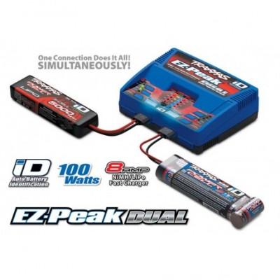 Ez-Peak Charger Dual LiPo NiMh 100W 220V