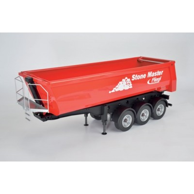 Carson 3-Axle Half Pipe Tip-Up Trailer Stone Master CA907216