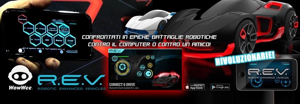 REV Robot Enhanced Vehicles