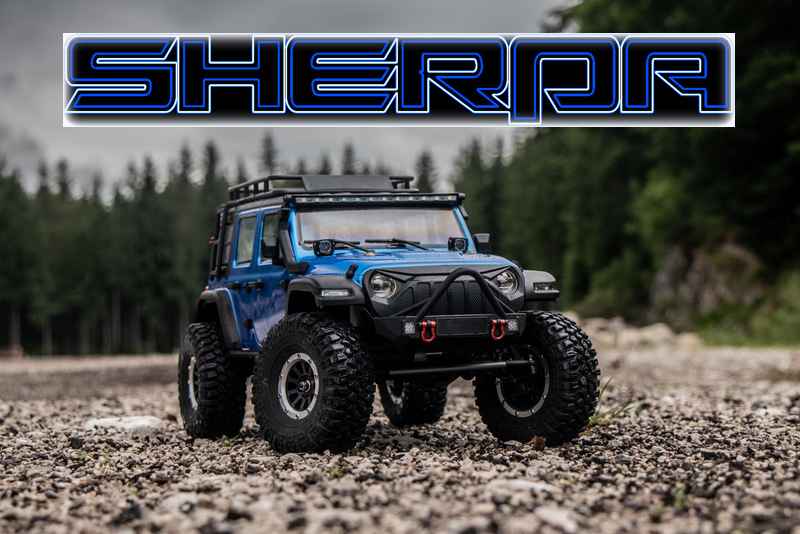 Absima Sherpa Scaler 4x4 rtr portale Blue 01