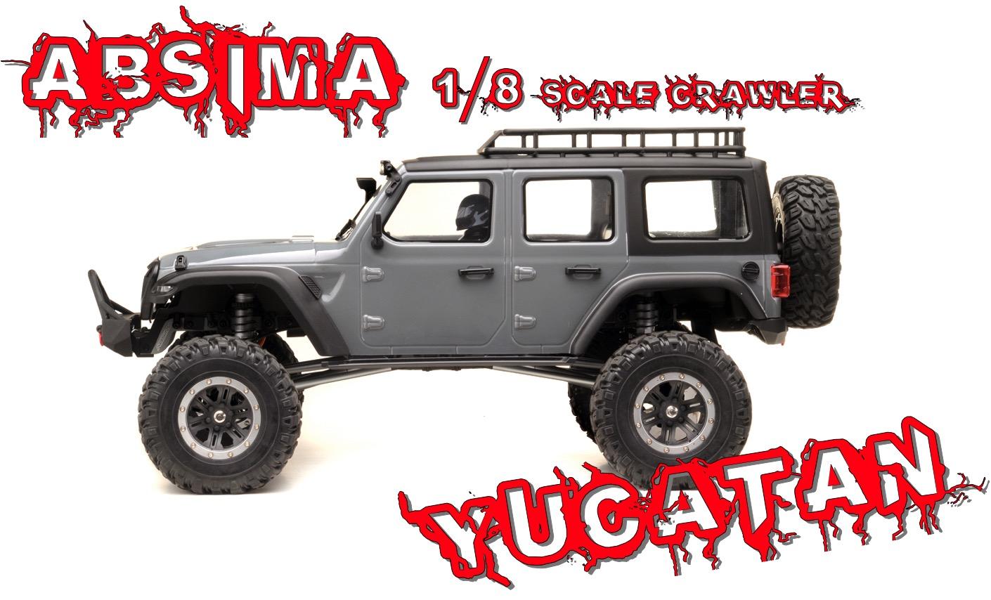 Yucatan Crawler 4x4 RTR antracite 01