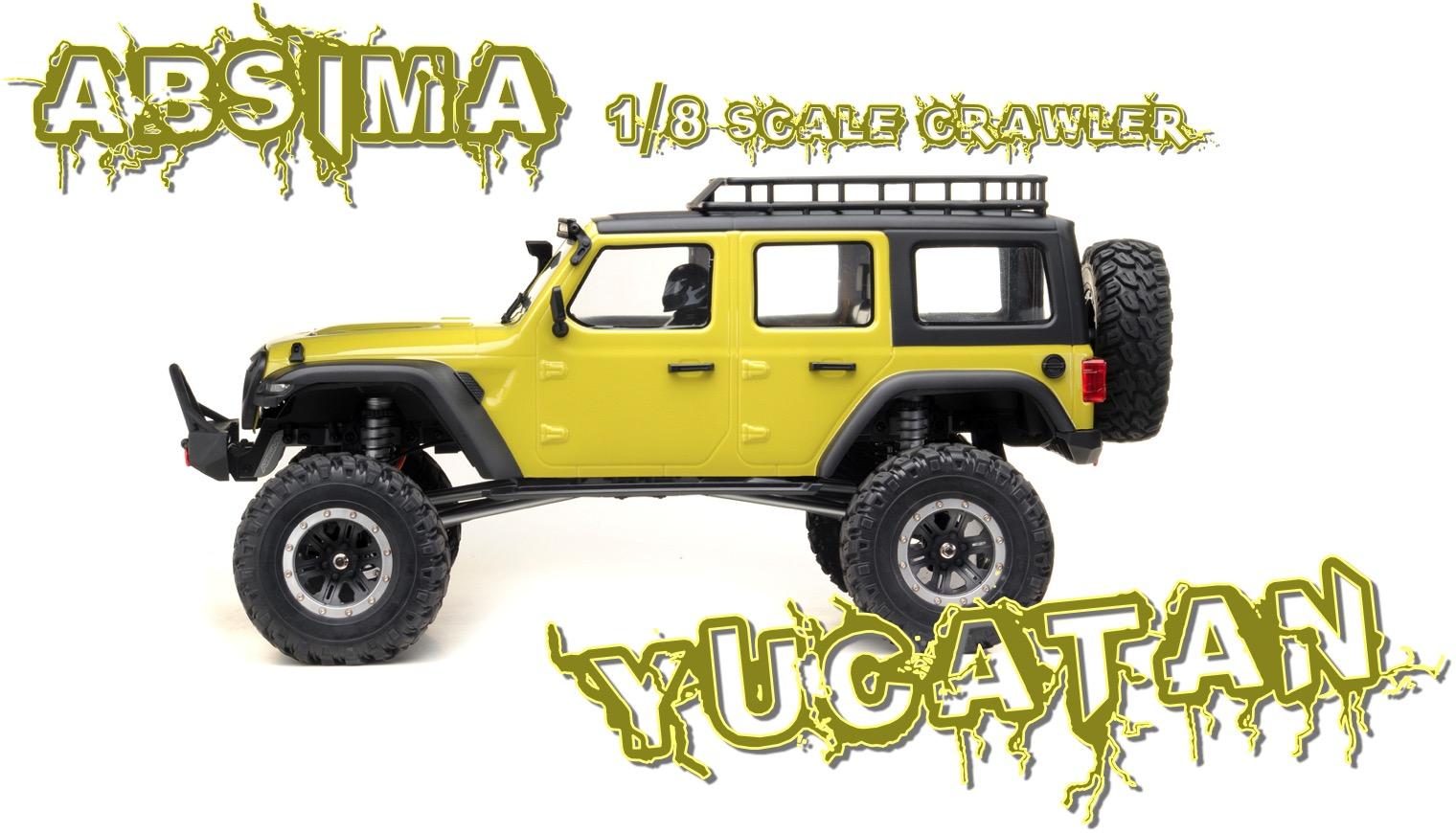 Yucatan Crawler 4x4 RTR Lime Verde 01