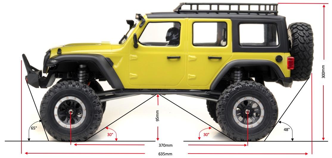 Yucatan Crawler 4x4 RTR Lime Verde 03