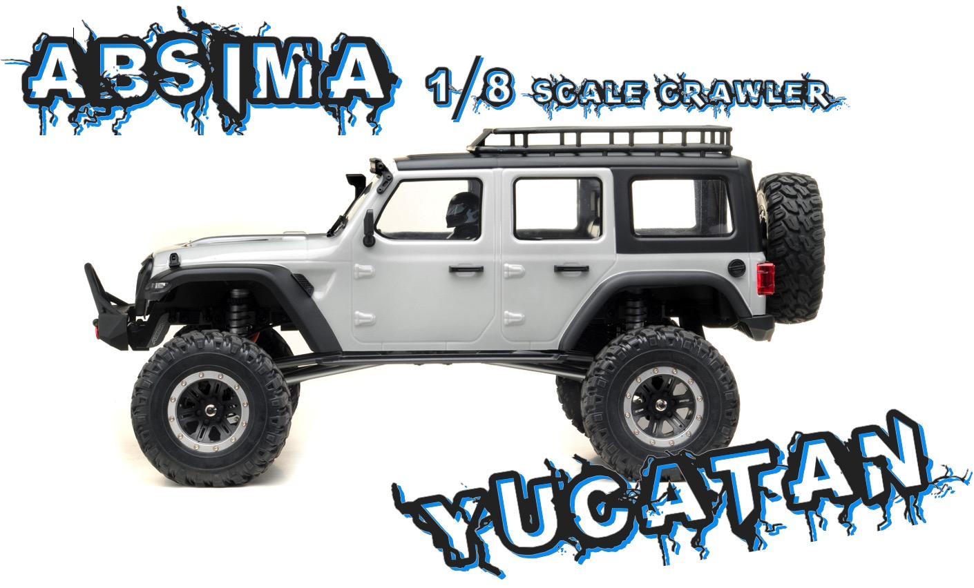 Yucatan Crawler 4x4 RTR Light grigio 01