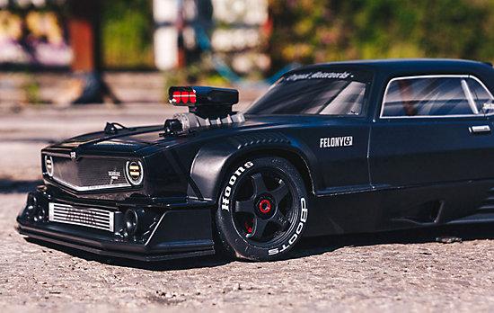 Felony 6s blx muscle car orange 01