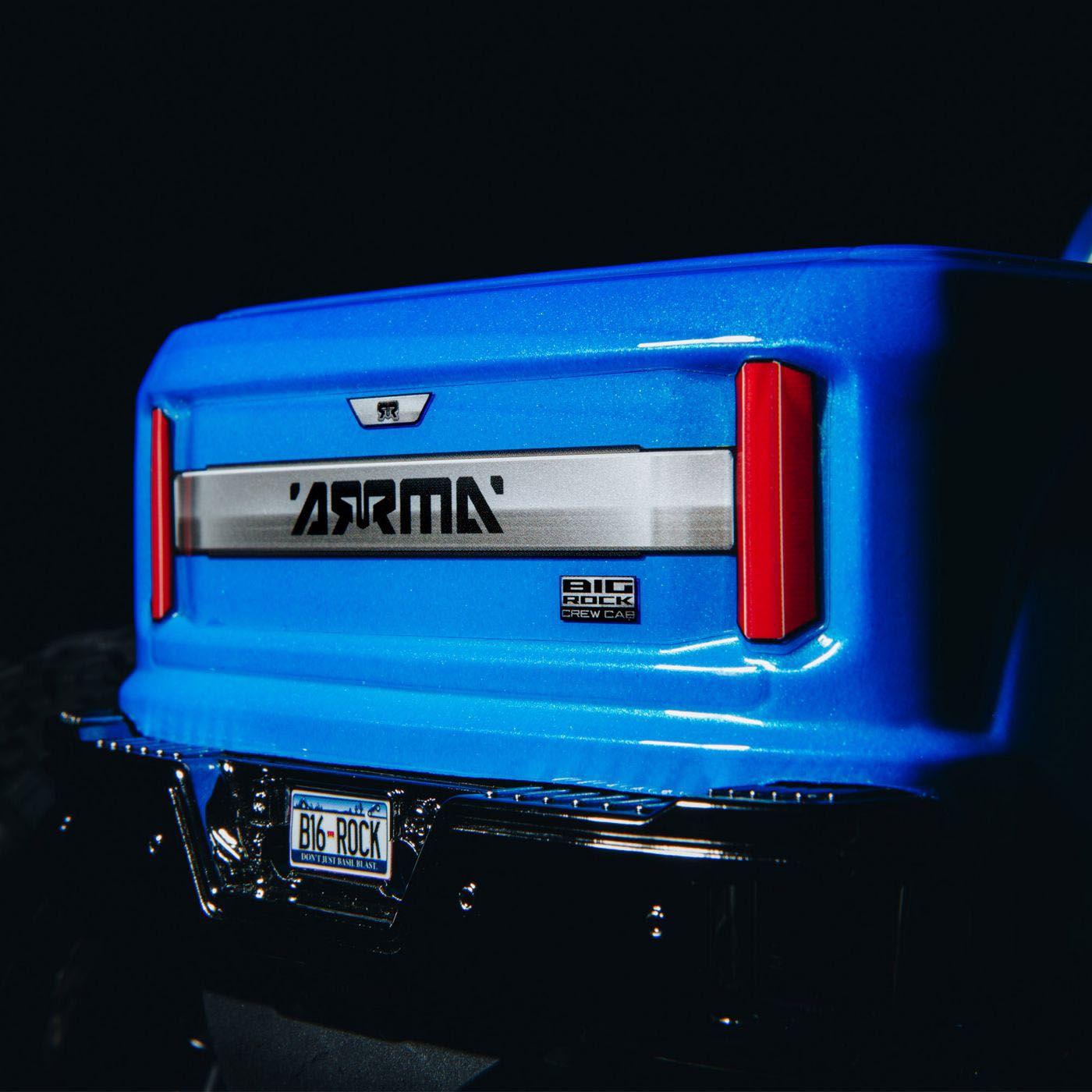 Arrma Big Rock Crew Cab 3S 4x4 Brushless RTR 8