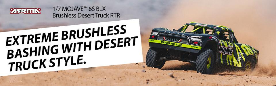 Arrma Mojave 6S Blx 4WD Desert Truck Brushless 1