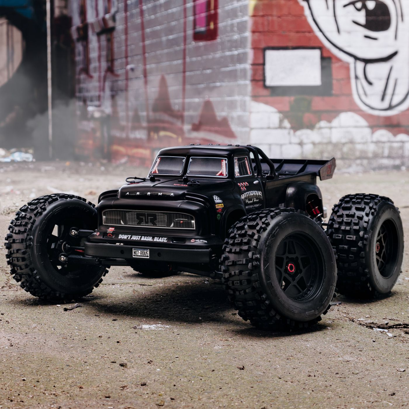 Arrma Notorious 6S Blx 4WD Truggy Brushless Black 4