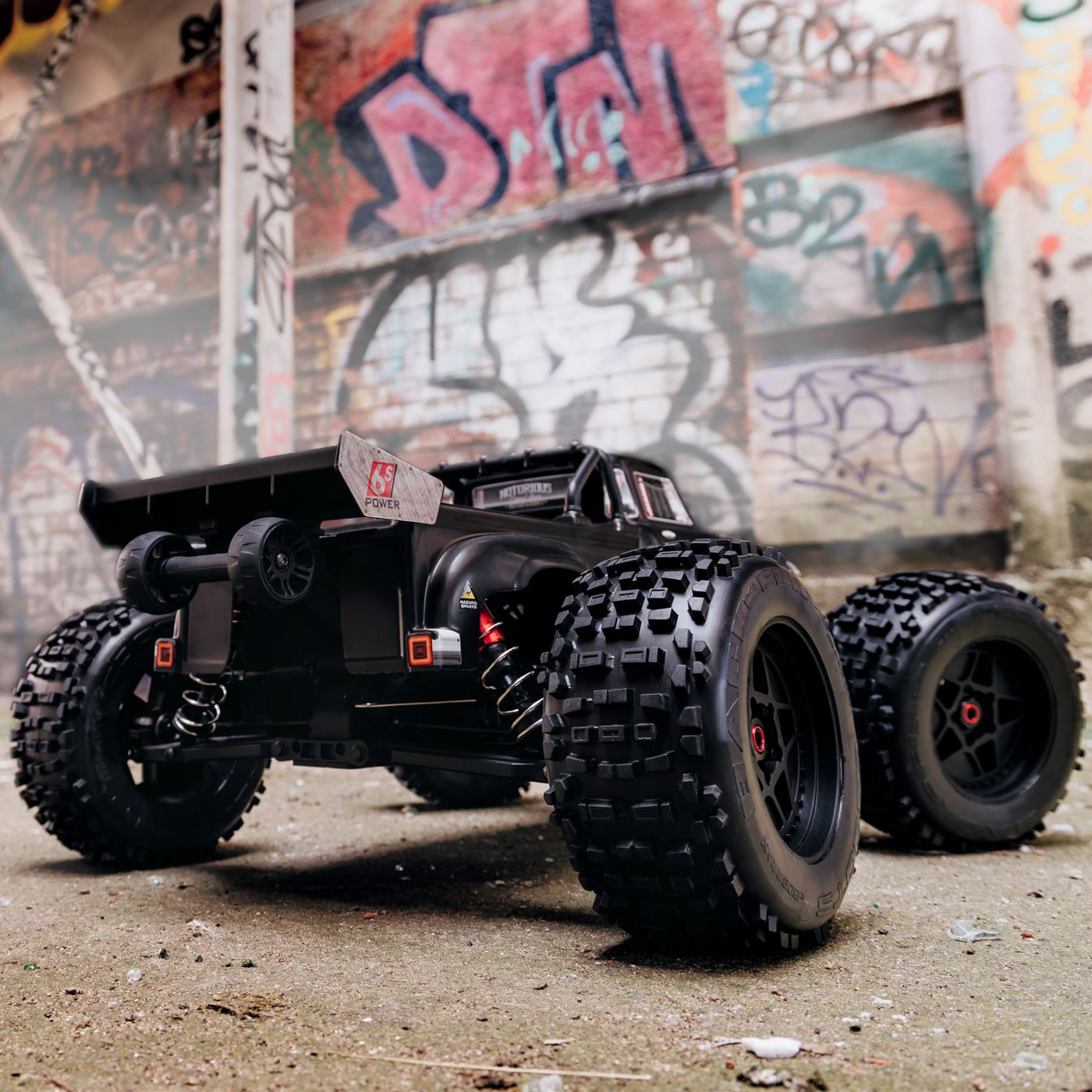 Arrma Notorious 6S Blx 4WD Truggy Brushless Black 5