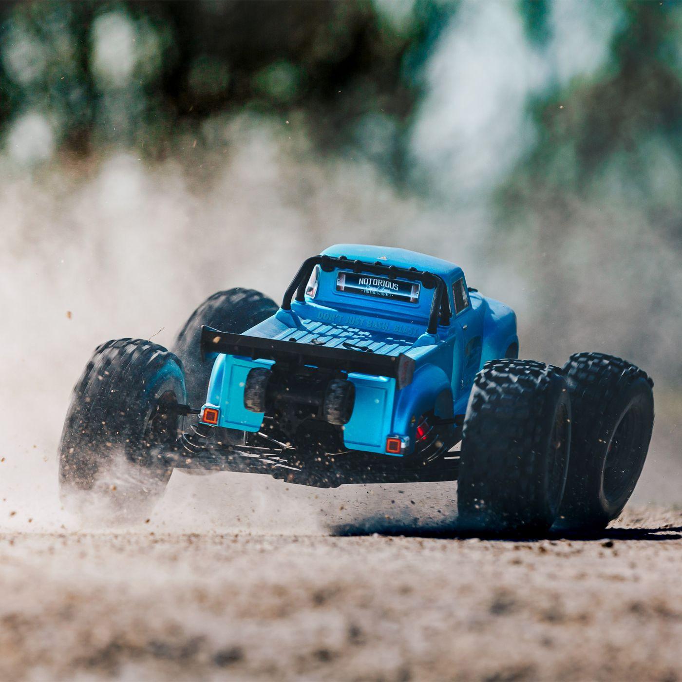 Arrma Notorious 6S Blx 4WD Truggy Brushless Blu 3