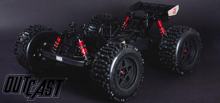 Arrma Outcast 6S BLX 4WD Stunt Truck rtr 1x