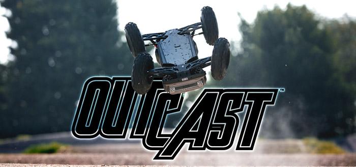 Arrma Outcast 6S BLX 4WD Stunt Truck rtr 10