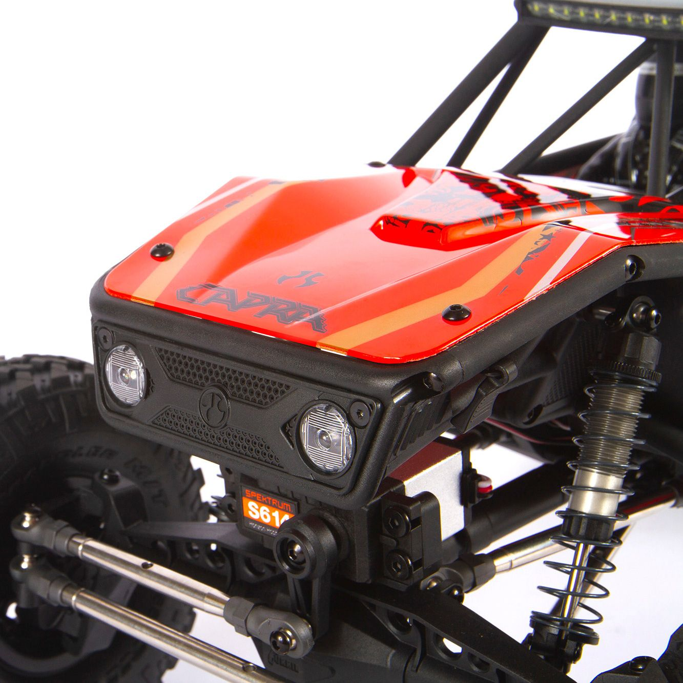 Axial Capra 1.9 Kit Unlimited Trail 4wd Red RTR 02x