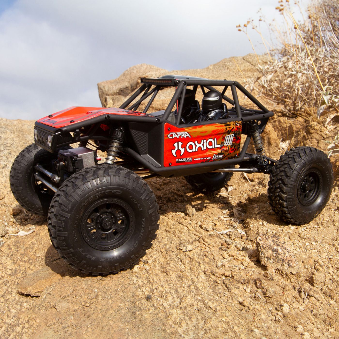 Axial Capra 1.9 Kit Unlimited Trail 4wd Red RTR 03x