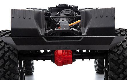 Scx10 3 Jeep JLU Wrangler RTR Gray 08