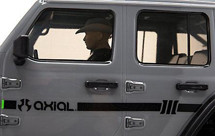 Scx10 3 Jeep JLU Wrangler RTR Gray 15