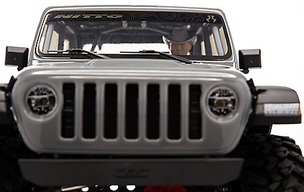 Scx10 3 Jeep JLU Wrangler RTR Gray 16