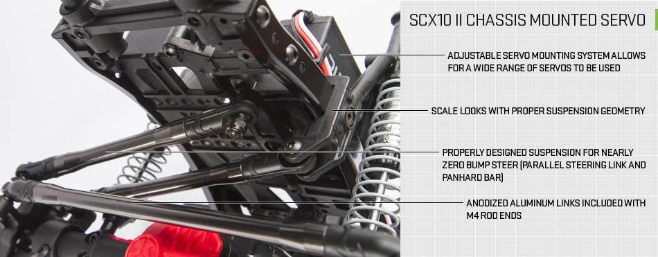 Axial Scx 10 II kit Jeep Cherokee 4wd 07