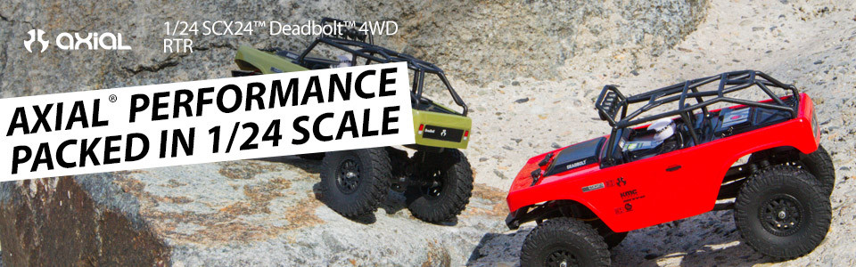 Axial Scx24 Deadbolt 4x4 rtr scaler 1/24 00