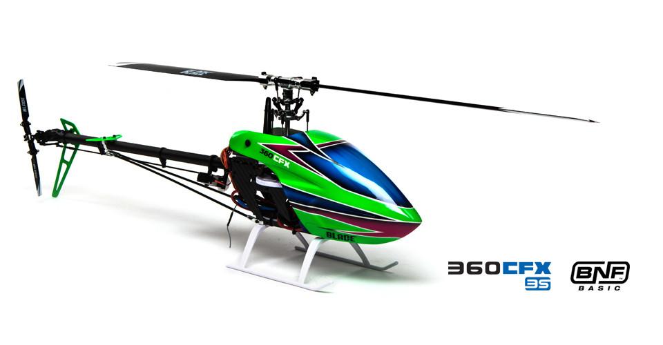 Blade 360 CFX 3S Elicottero rc bnf 3d 05