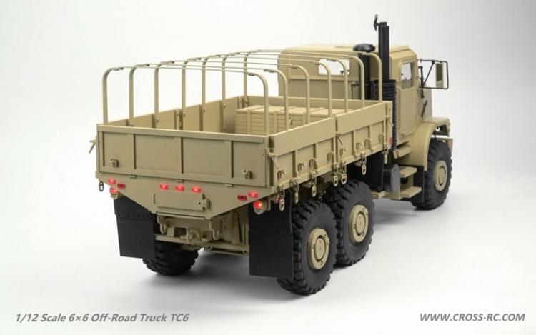 Cross RC Camion Trial 6x6 in Metallo TC6 Kit 02