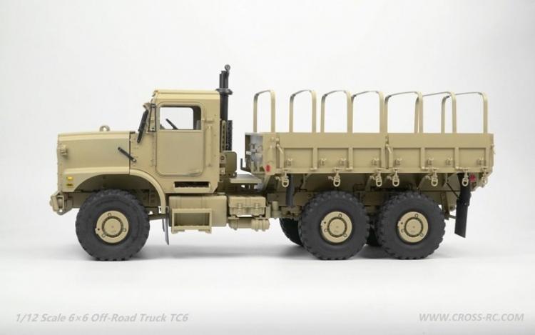 Cross RC Camion Trial 6x6 in Metallo TC6 Kit 03