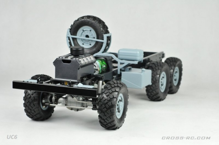Cross RC Camion Trial 6x6 in Metallo UC6 Kit 04