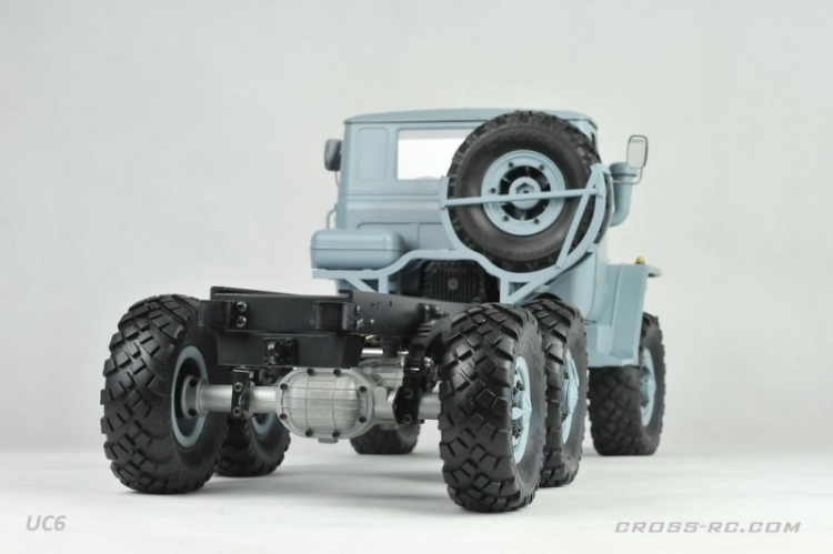 Cross RC Camion Trial 6x6 in Metallo UC6 Kit 05