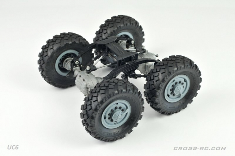 Cross RC Camion Trial 6x6 in Metallo UC6 Kit 06