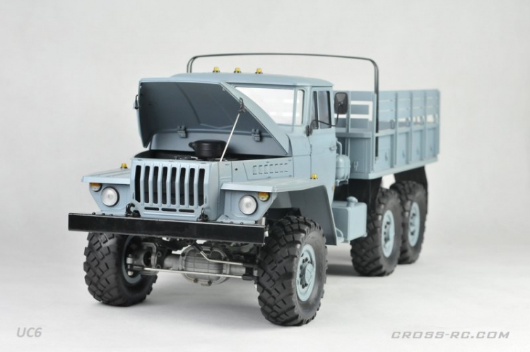 Cross RC Camion Trial 6x6 in Metallo UC6 Kit 09
