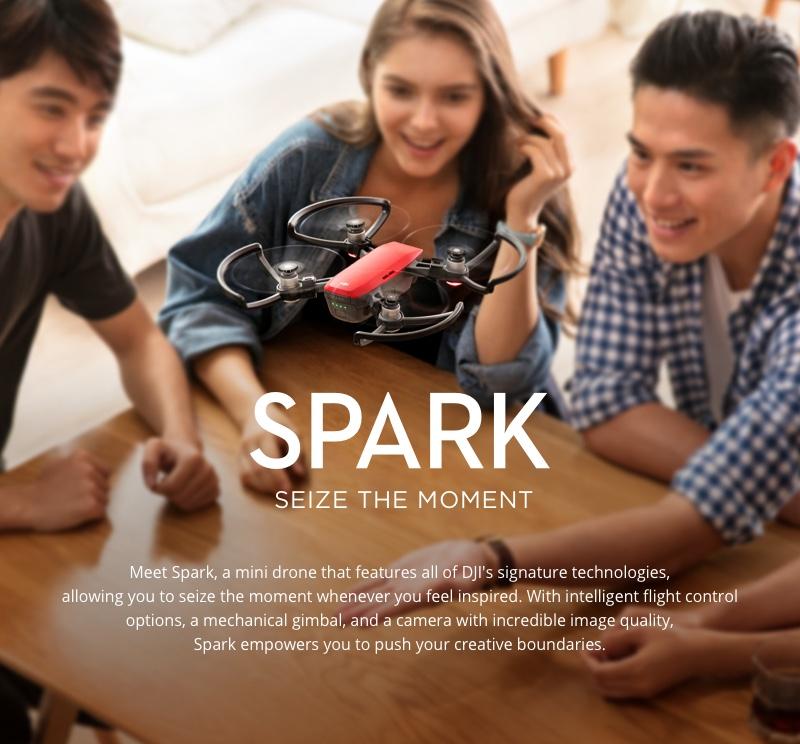 Dji Spark FPV Drone 01