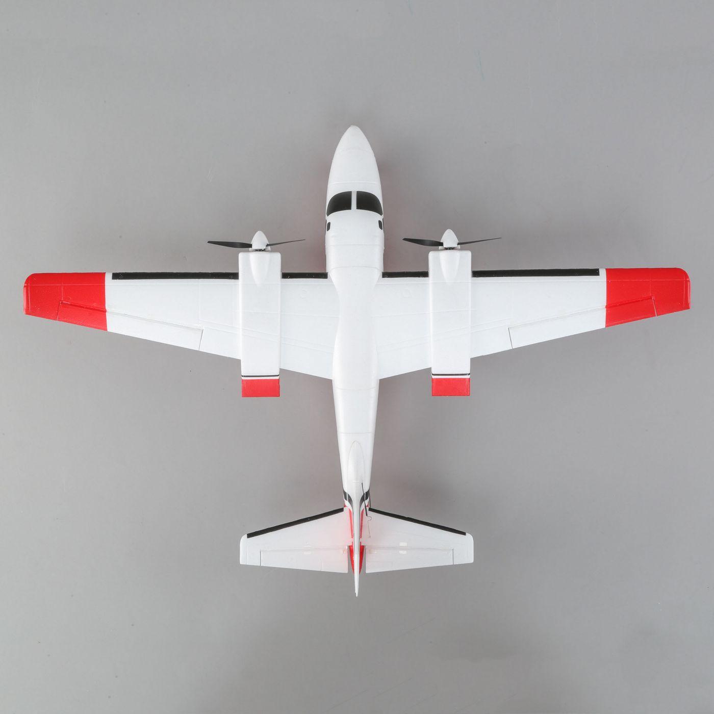E-flite Aero Commander BNF Basic AS3X SAFE 03